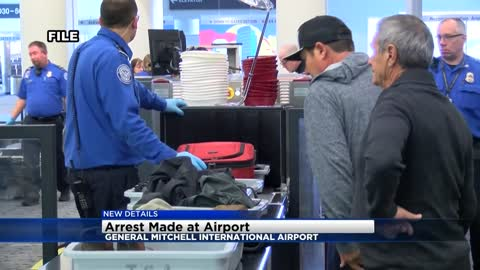 Man arrested for possible drug smuggling at General Mitchell...